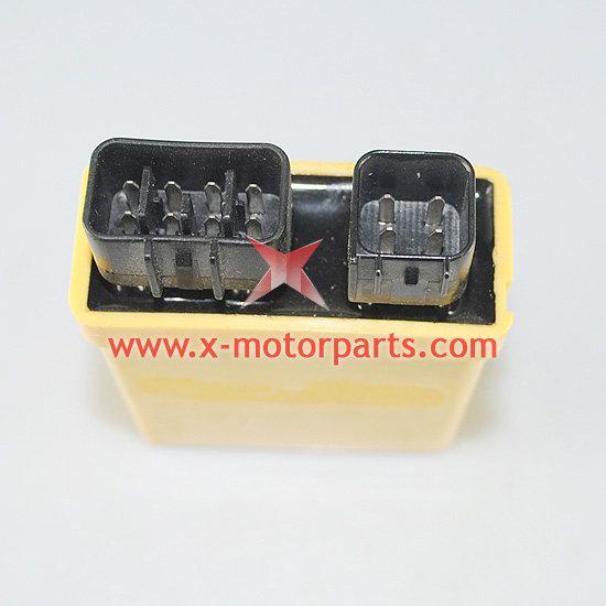 6-pin,double plug cdi fit for the 300cc loncin,atv parts ... 09 kawasaki teryx headlight wiring diagram #14