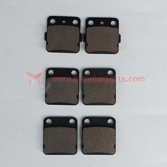Front Rear Brake Pads WARRIOR YFM350 1989-2004